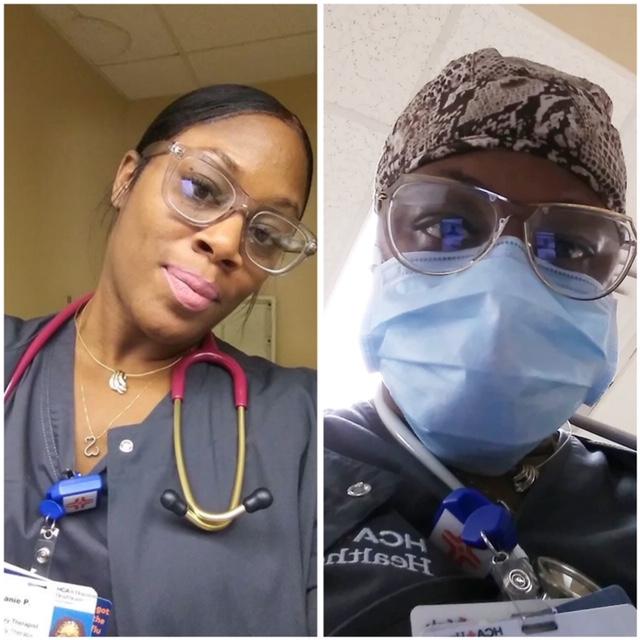 "Stephanie Payne, Respiratory Therapist: ""No thanks needed, it's my duty!'"