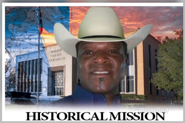 Man on mission to become Waller County's 1st African American sheriff